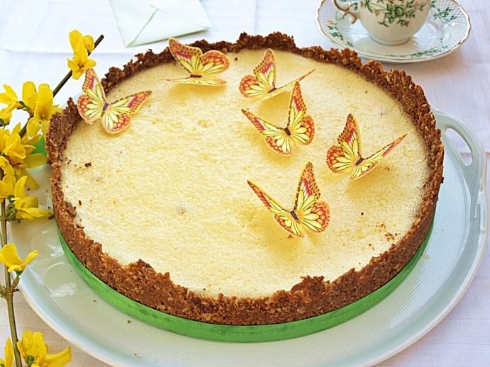 Midsummer cheesecake