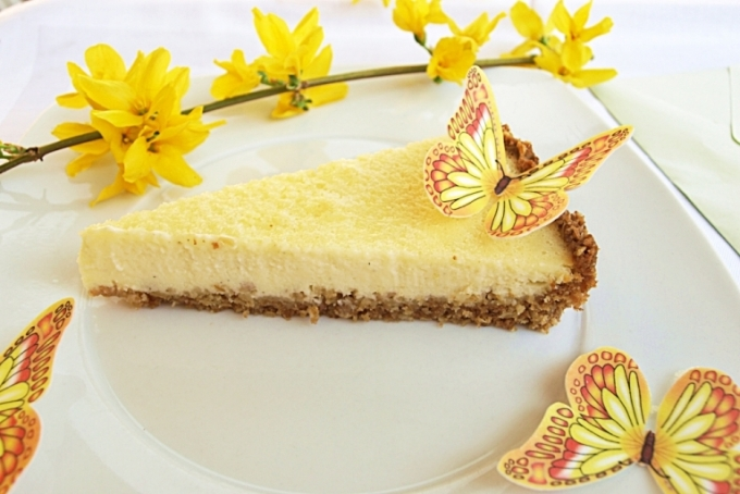 Midsummer cheesecake