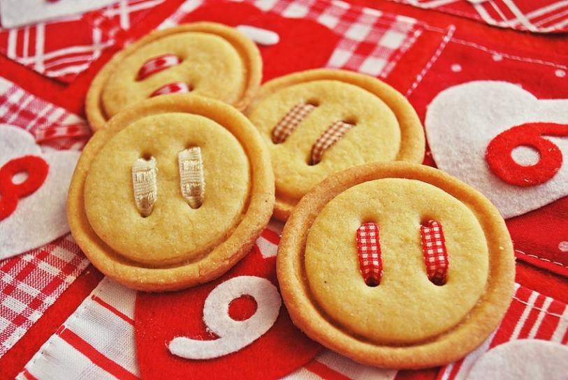 Santa's buttons